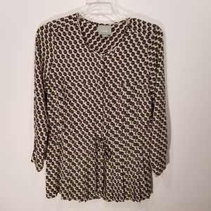 |Anthropologie| Maeve Tunic Top size Small